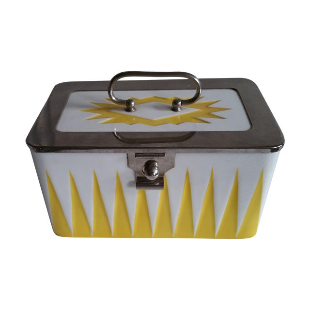 Art Deco Ceramic Box - Image 1 of 6