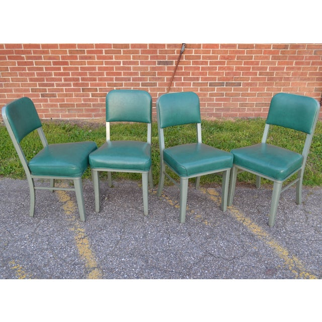 Steelcase Mid Century Office Chairs - Set of 4 - Image 3 of 8