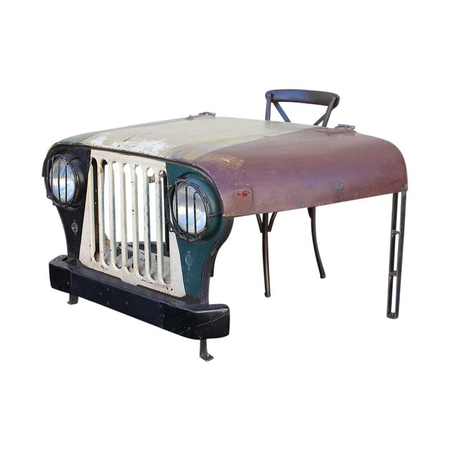 Image of Vintage Jeep Desk