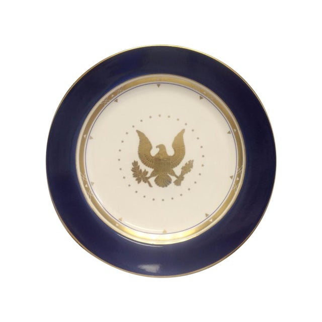 Vintage Americana Homer Laughlin Eagle Plate - Image 1 of 5