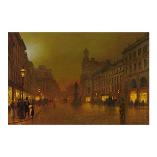 St. Ann's Square, Manchester by John Atkinson Grimshaw