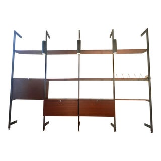 Mid-Century Modern Four Bay CSS Wall Unit by George Nelson for Herman Miller