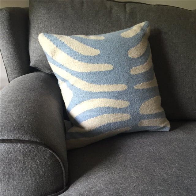 Jonathan Adler Pop Zebra Wool Throw Pillow - Image 3 of 5
