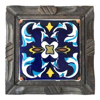 Mexican Tile & Wood Trivet