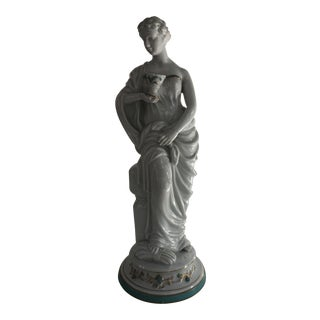 Neoclassical Porcelain Statue