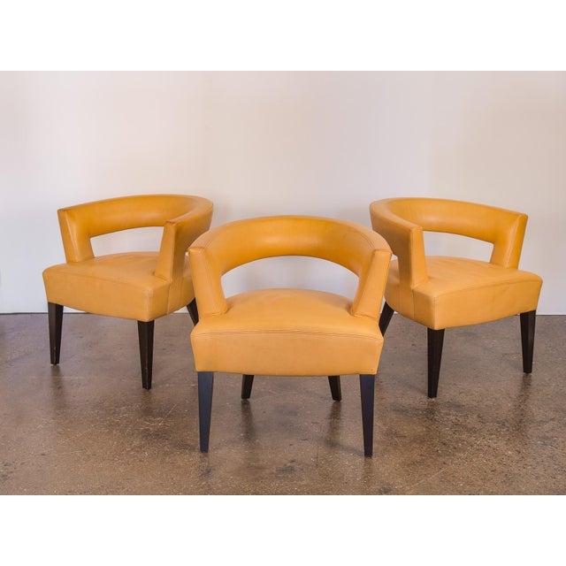 Distinguished Set Of Dakota Jackson Ringback Chairs Decaso