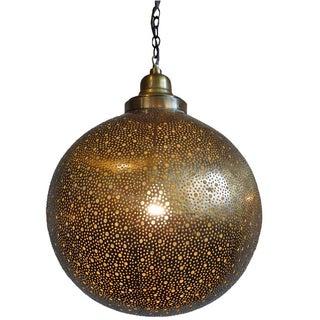 Brass Work Moroccan Lantern