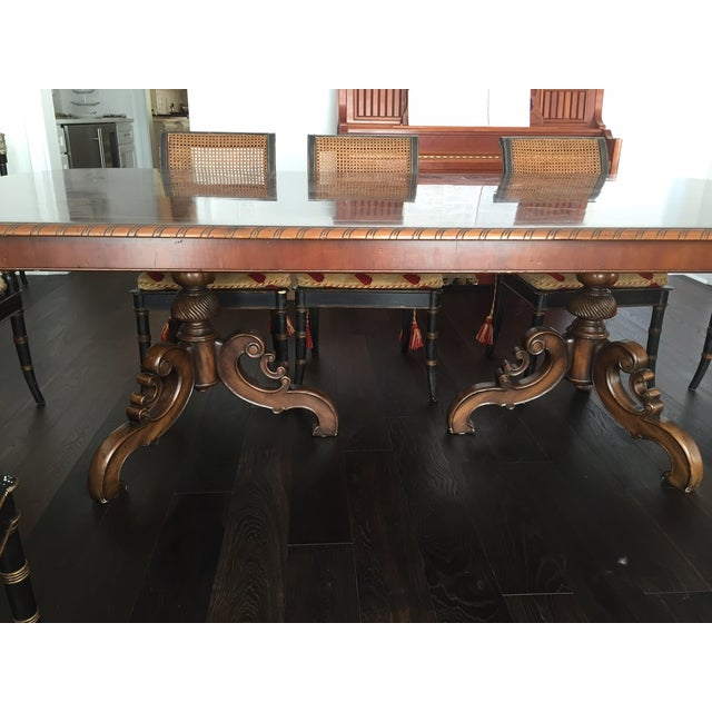 Alfonso Marina Solid Walnut Dining Table - Image 5 of 7