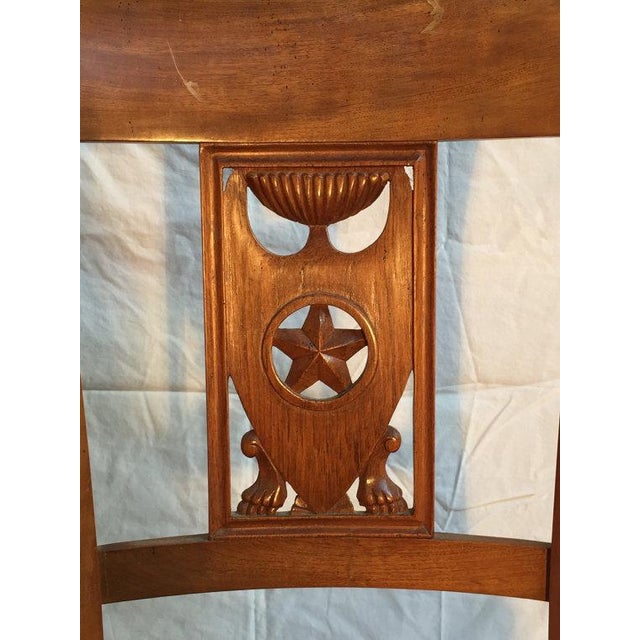 Carved Dining Room Chairs - Set of 6 - Image 5 of 5