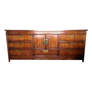 Regency Dresser Credenza with Brass Hardware