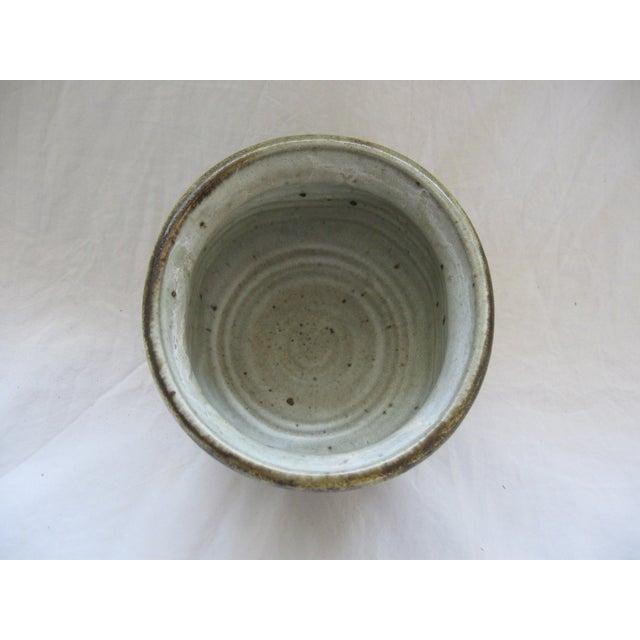 Mid-Century Studio Pedestal Bowl - Image 6 of 6