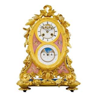 Important Perpetual Calendar Clock by Muirhead