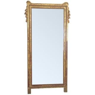 Antique French Gold Leaf Gilt Mirror