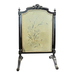 French Napolean III Fireplace Screen