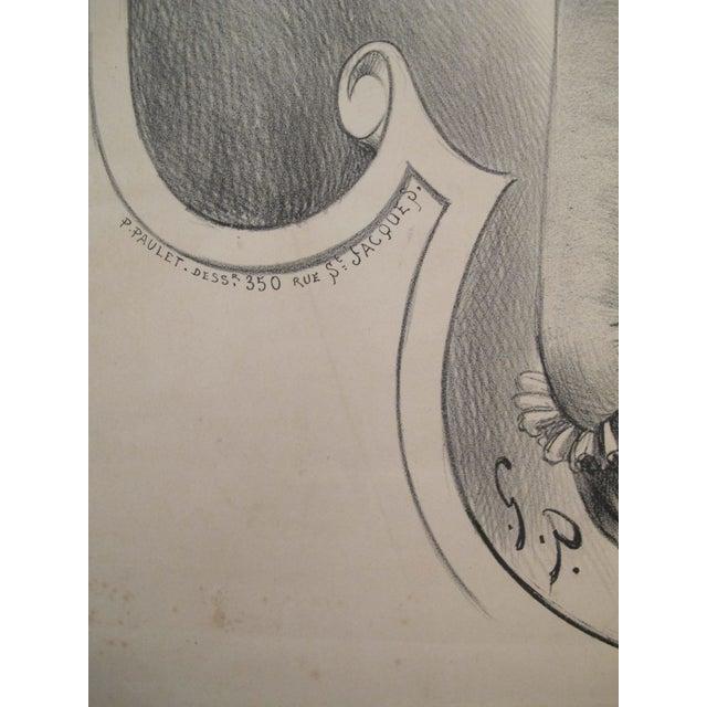 Original Vintage French Art Nouveau Poster, 1897 - Image 3 of 3