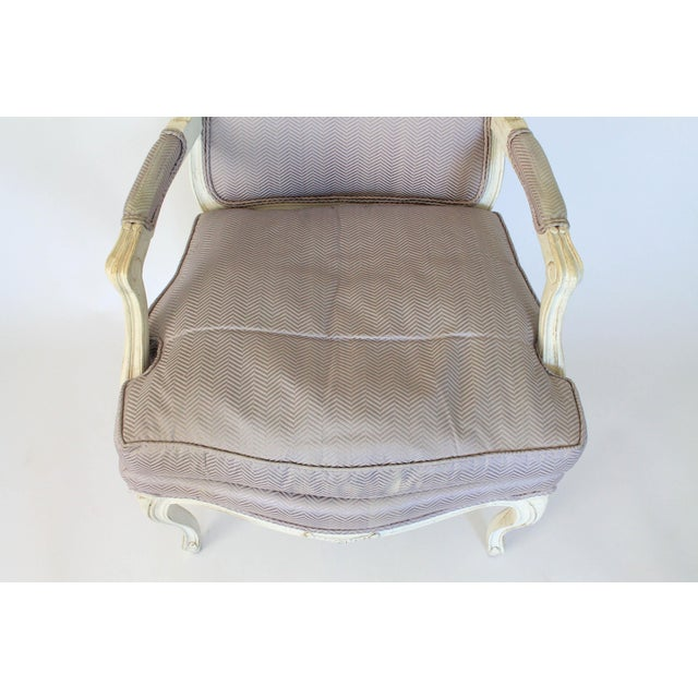 Image of Henredon Bergere Accent Chair