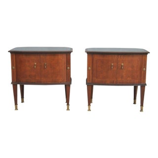 Paolo Buffa Style Nightstands - A Pair