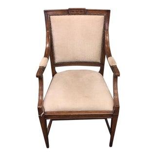 Gustavian Upholstered Armchair
