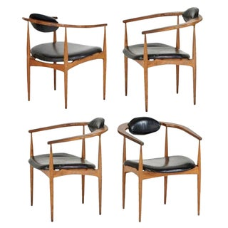Adrian Pearsall Style 950-C Chairs - Set of 4