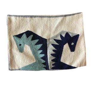Jonathan Adler Brasilia Horse Pillow