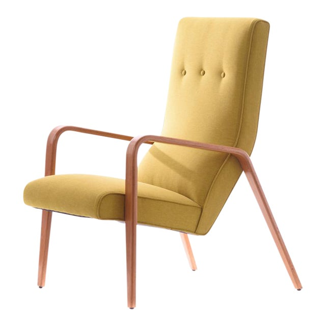 Thonet Mid-Century Modern Bentwood Lounge Chair - Image 1 of 5