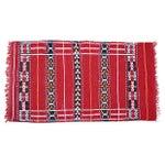"Image of Handwoven Moroccan Kilim Rug - 4' x 2'4"""