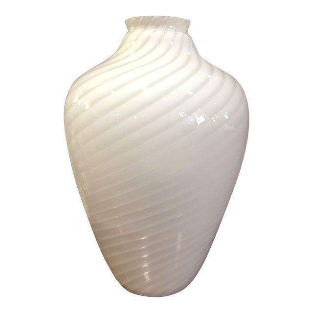 Image of 1960's Italian Glass Vase