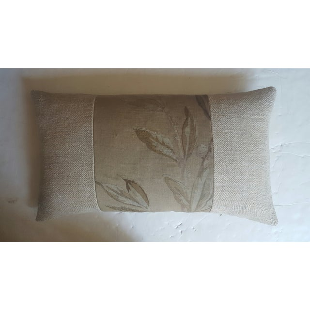 Image of French Aubusson & Hemp Pillow