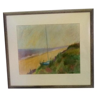 Framed & Matted Pastel by Cynthia Costello