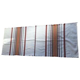 Multicolor Striped Boho Chic Table Runner