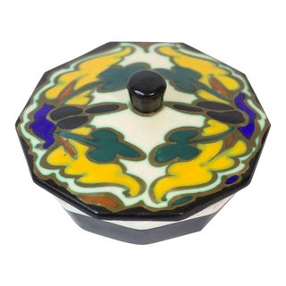 Belgian Art Pottery Box