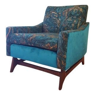 Custom Mid-Century Pearsall Style Chair