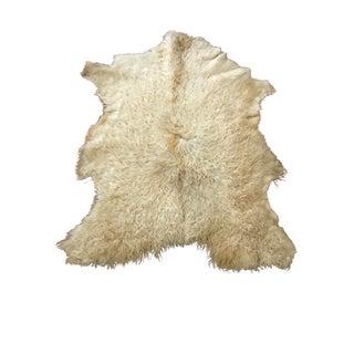 Anatolian Sheepskin Rug - 3′1″ × 4′3″