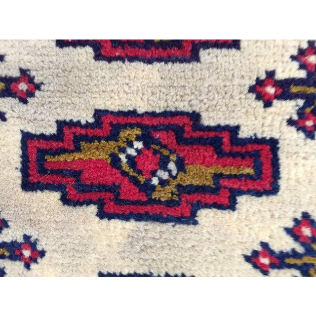 "Turkaman Persian Handmade Rug - 1'8"" x 3'5"" - Image 7 of 9"
