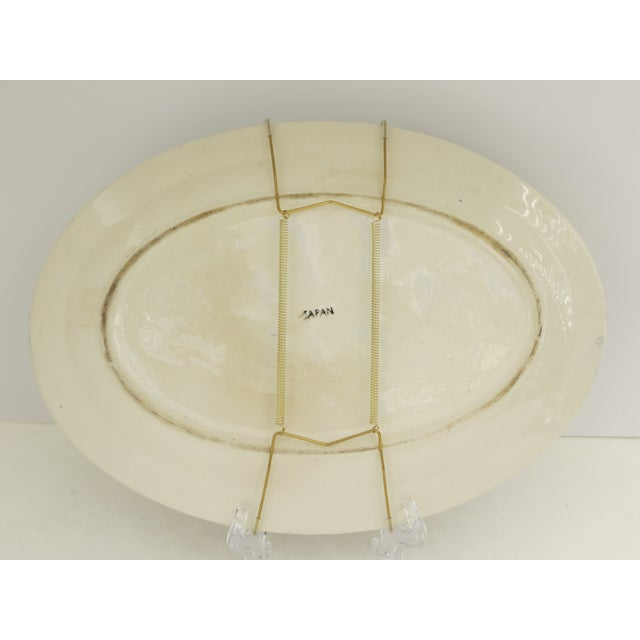 Traditional Japanese Blue Willow Platter - Image 4 of 5