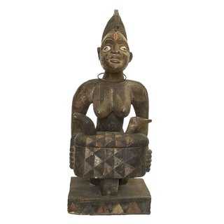 Antique Nigerian Ceremonial Statue