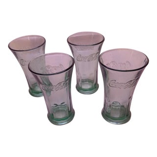 Vintage Coca-Cola Glasses - Set of 4