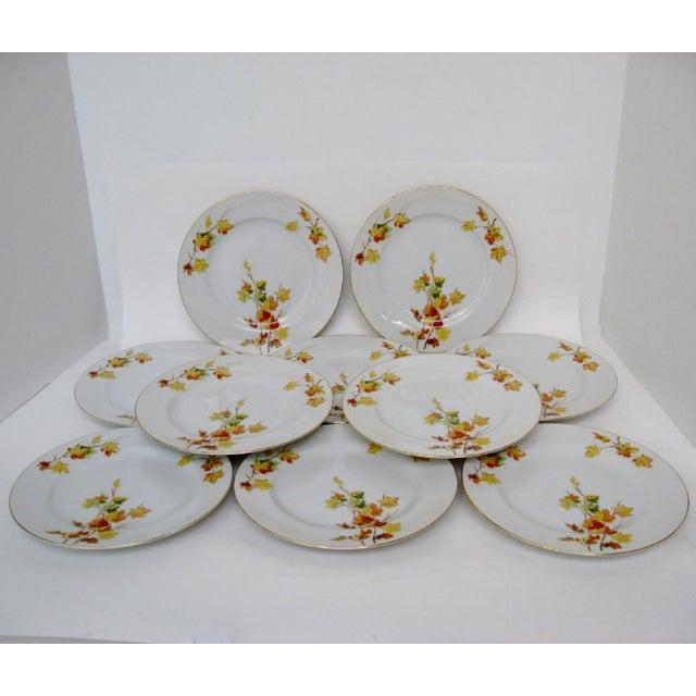 Japanese Porcelain Salad Plates - Set of 10 - Image 3 of 4