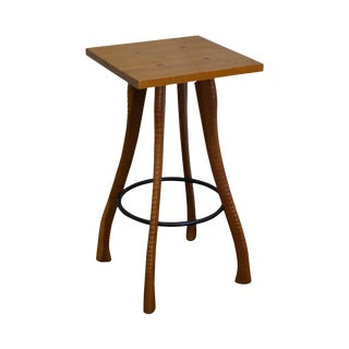 Brad Smith Ax Handle Studio Crafted Cherry Side Table