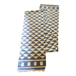 "Tribal Aztec Pattern Runner Rug - 2'7"" x 20'"