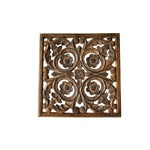 Image of Vintage Wood Wall Art Pieces - Set of 4