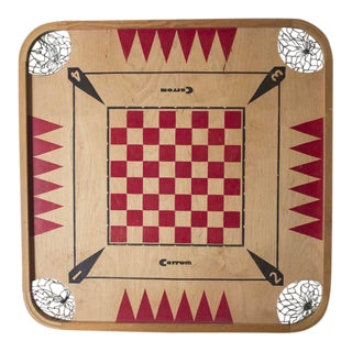 1960s Vintage Carrom Board