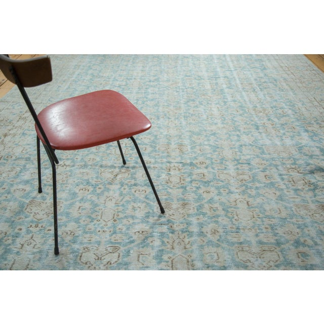 "Distressed Oushak Carpet - 8'10"" X 12'4"" - Image 7 of 10"