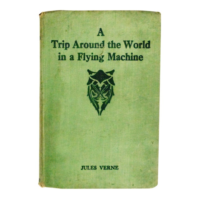 A Trip Around the World in a Flying Machine by Jules Verne - Image 1 of 8