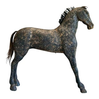 Swedish Horse in Black Paint (#51-31)