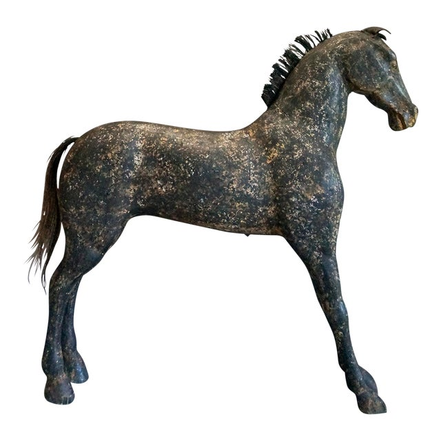 Image of Swedish Horse in Black Paint (#51-31)