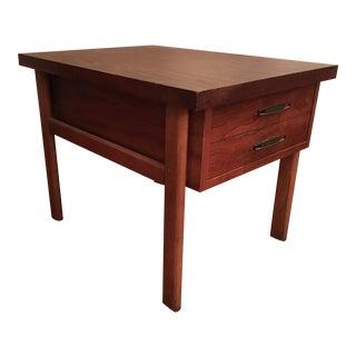 Vintage Lane Mid Century Modern Wood Side Table