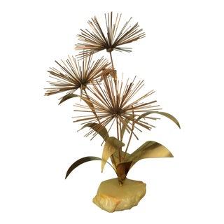 C Jere Pom Pom Dandelion Thistle Sculpture