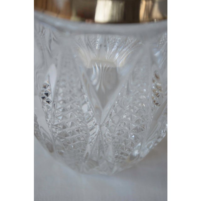 Vintage Crystal and Silver Platted Ice Bucket - Image 6 of 6