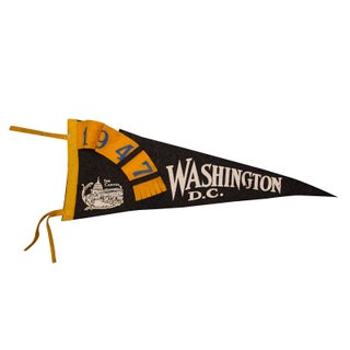 1947 Washington, DC Felt Flag
